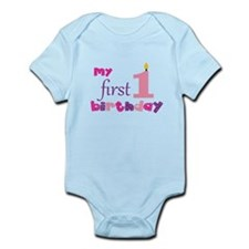My First Birthday Infant Bodysuit