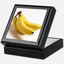 yellow banana fruit food minimalist p Keepsake Box