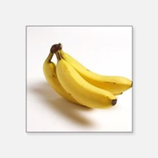 yellow banana fruit food minimalist photo Sticker