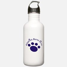 Adoption Saves Lives With Paw Water Bottle