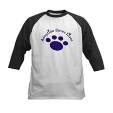 Adoption Saves Lives With Paw Baseball Jersey