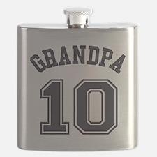 Grandpa's Uniform No. 10 Flask