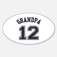 Grandpa's Uniform No. 12 Decal