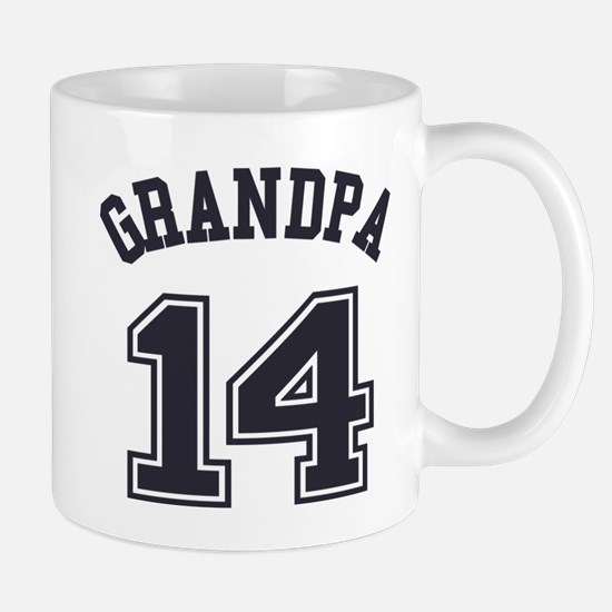 Grandpa's Uniform No. 14 Mug