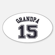 Grandpa's Uniform No. 15 Decal