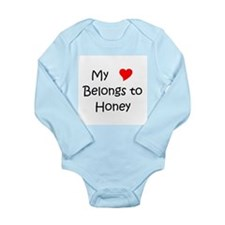 Cute My honey Long Sleeve Infant Bodysuit