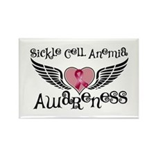 Sickle Cell Anemia Rectangle Magnet (10 pack)