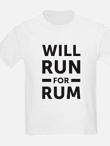 Will run for rum T-Shirt