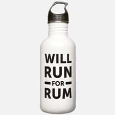 Will run for rum Water Bottle