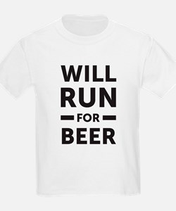 Unique Will run for beer racerback T-Shirt