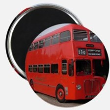 Red double decker bus Magnet