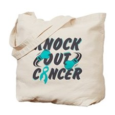 Knock Out Gynecologic Cancer Tote Bag