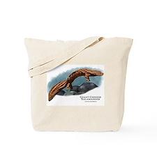 Giant Chinese Salamander Tote Bag