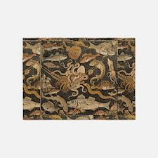 Pompeii Mosaic 5'x7'area Rug