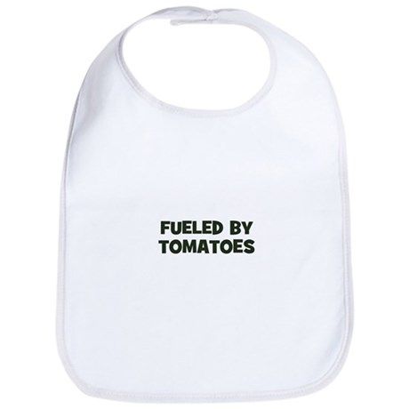 fueled by tomatoes Bib
