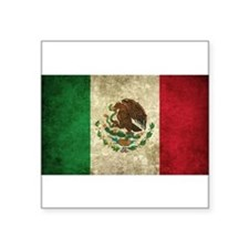 "Cute Mexico Square Sticker 3"" x 3"""