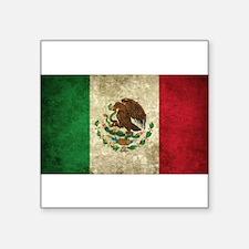 """Cute Mexico Square Sticker 3"""" x 3"""""""