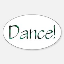 Design #489 Oval Decal