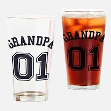 Grandpa's Uniform No. 01 Drinking Glass