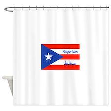 Nuyorican Statue of Liberty New Yor Shower Curtain