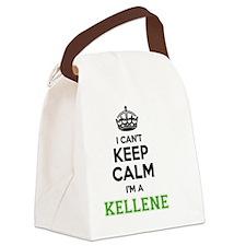 Funny Kellen Canvas Lunch Bag