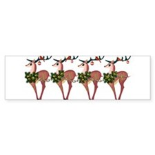 Cute Christmas holiday Bumper Sticker