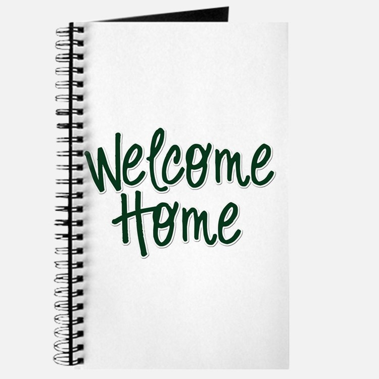 Cute Welcome home Journal