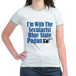 I'm With the Secularist Blue State Pagan Jr. Ringe