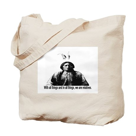 WE ARE RELATIVES Tote Bag