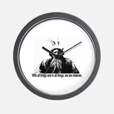 WE ARE RELATIVES Wall Clock