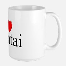 """I Love (Heart) Hentai"" Large Mug"
