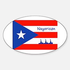 Nuyorican Statue of Liberty New York C Stickers