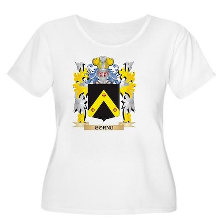 Cornu Coat of Arms - Family Cres Plus Size T-Shirt