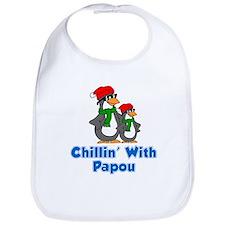 Chillin' With Papou Bib
