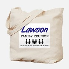 Lawson Family Reunion Tote Bag