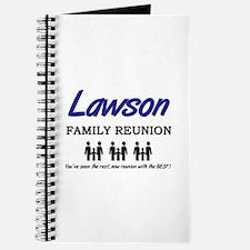 Lawson Family Reunion Journal