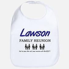 Lawson Family Reunion Bib
