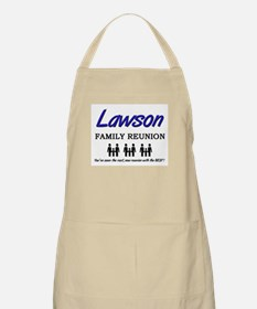 Lawson Family Reunion BBQ Apron