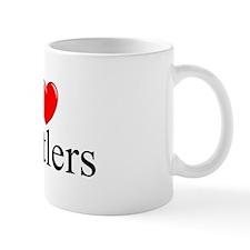 """""""I Love (Heart) Hustlers"""" Mug"""