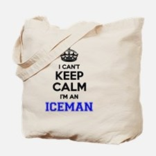 Funny Iceman Tote Bag
