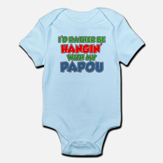 Rather Be With Papou Body Suit