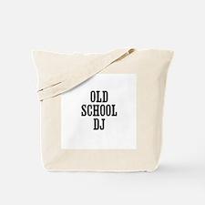 old school DJ Tote Bag
