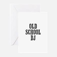 old school DJ Greeting Cards (Pk of 10)