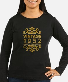 Vintage 1952 Long Sleeve T-Shirt