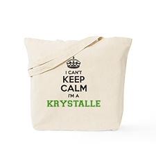 Funny Krystal Tote Bag