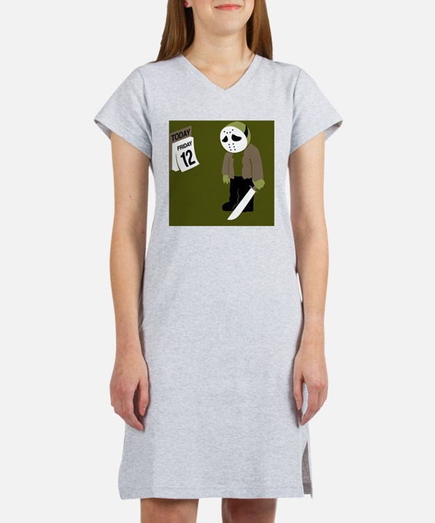 Cute Friday the 13th Women's Nightshirt
