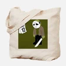 Cute Friday the 13th Tote Bag