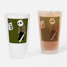 Unique Friday the 13th Drinking Glass