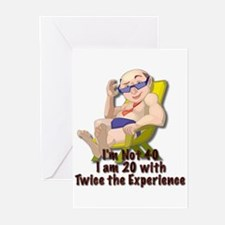 Twice The Experience Greeting Cards (6)