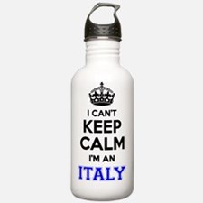 Unique I am italian but Water Bottle
